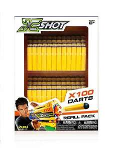 X Shot 100 darts £3.30 @ Tesco Direct (Free C&C)