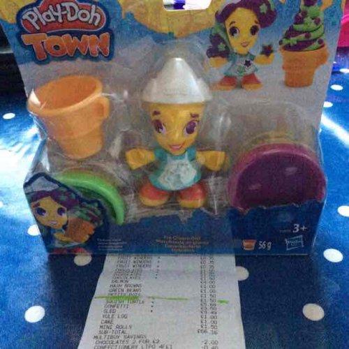 Play Doh Ice Cream Girl £1 Tesco Extra in store.