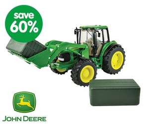 Up to 60% off toys eg John Deere tractor was £40 now £16, Honey Bee tree game was £12 now £6 more in post @ Early Learning Centre