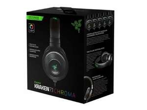 Razer: Kraken 7.1 Chroma Surround Sound Gaming Headset - Now £59.97 with FREE Delivery at Gamestop