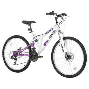 Girls bike dual suspension for 8yrs plus at Tesco Direct for £110 @ Tesco