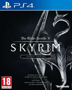 Elder Scrolls Skyrim Special Edition PS4 £26 @ Tesco