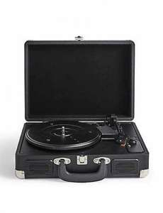M&S record player