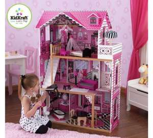 Kidkraft Amelia Dolls House - Was £99.95... now £68.96 Delivered - Tesco Direct