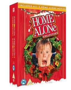 Christmas Classic Home Alone 1 2 3 4 Dvd Boxset and other boxets £4.99 at HMV Free click and collect or free delivery over £10