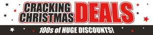 Christmas discount at The Works, items from 50p including crafts, books, toys