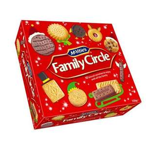 McVitie's Family Circle Biscuit Selection 720g £1.95 @ wilkos