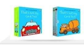 That's Not My Car & Truck - 2 Book Pack £5 WHSMITH In-store, free C&C or delivery (£2.99)