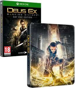 Deus Ex: Mankind Divided Steelbook Edition - Only at GAME (Xbox One) £19.99 Delivered @ GAME