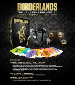 BORDERLANDS THE HANDSOME COLLECTION GENTLEMAN CLAPTRAP-IN-A-BOX EDITION PS4 & XB1 £81 Delivered @ 2K