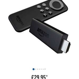 Amazon Fire TV Stick now £29.95 at Argos Instore or online