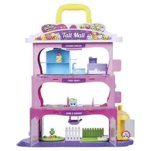 Shopkins Tall Mall Play Set £21.74 Tesco