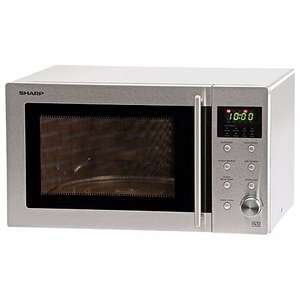 Sharp R28STM Microwave with 1 Year Warranty, 23 Litre, 800 Watt, Silver £35 @ Amazon