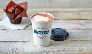 Free hot drink when you sign up to greggs rewards on app @greggs
