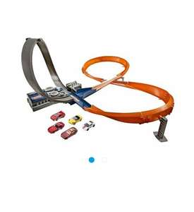Hot Wheels Figure 8 Raceway With 6 Cars now £11.53 @ Tesco Direct
