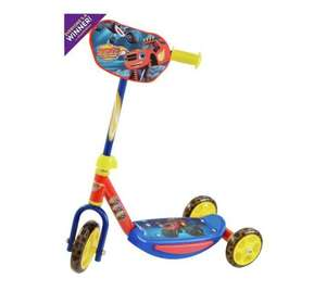 blaze and the monster machines 3 wheeled scooter £8.91 @tesco direct free c&c