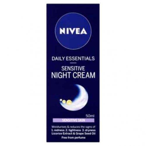 Nivea Daily Essentials Sensitive Night Cream 50ml £1.49 @ Superdrug