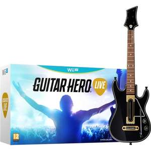 Guitar Hero Live Wii U, 360 and PS3 - £14.99 @ Toys R Us