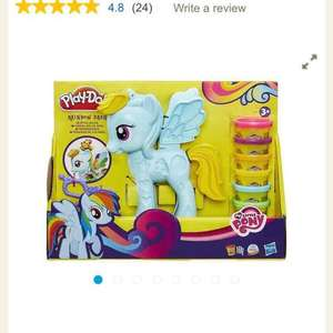 Play-Doh My Little Pony Rainbow Dash Salon £5.95 tesco