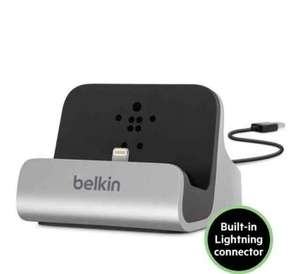 Belkin Charge And Sync Dock For IPhone 5/5s/5c/6/6s/SE/7(including + models) £14.99 prime / £18.98 non prime @ Amazon