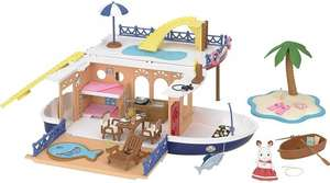 Sylvanian families seaside cruiser house boat - £34.65 via Amazon