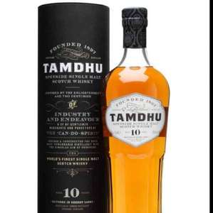 Tamdhu  10yo -70cl Whisky -£25.99 @ Amazon . Lightening deal act fast