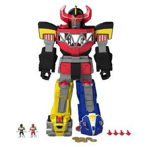 Fisher-Price Imaginext Power Rangers Morphing Megazord Only £29.99 at B&M