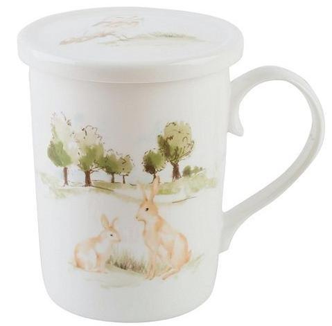 Woodland Fine China Mug infuser Gift Set £6 tesco (Free C&C)