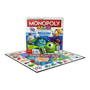 Monopoly Junior Monsters University Board Game - £5.89 at buysend