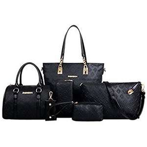 £26.30 + free del. Women Purses and Handbags Ladies Crossbody Bag Messenger Bag Purse 6 Sets £26.30  Sold by Yesken and Fulfilled by Amazon