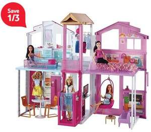Barbie 3 Story Townhouse now £53.28 online @ Tesco Direct
