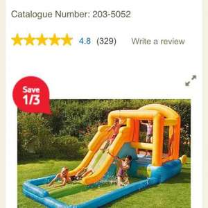 giant airflow bouncy castle and pool - £101.64 @ Tesco (Free C&C)