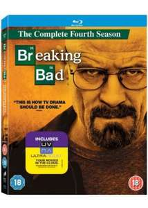 Breaking Bad Seasons 1-4 [Blu-ray+HDUV] £3.99 each or 3 for £10 NEW in store @ That's Entertainment