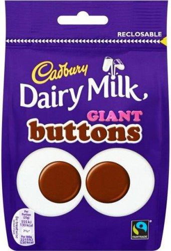 Cadbury Dairy Milk Giant Buttons 119g £1 at Tesco (Morrisons, Sainsburys, Asda)