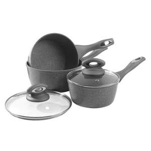 Salter Marblestone 3 pc pan set £32.94 inc. delivery @ The Range