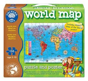 Orchard Toys World Map and Poster £6.60  (Prime) / £11.35 (non Prime) at Amazon