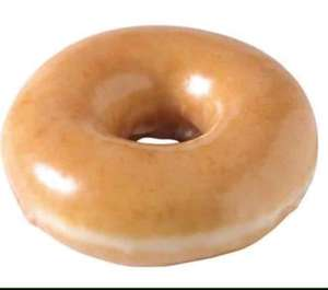 FREE Krispy Kreme doughnut for signing up to a newsletter