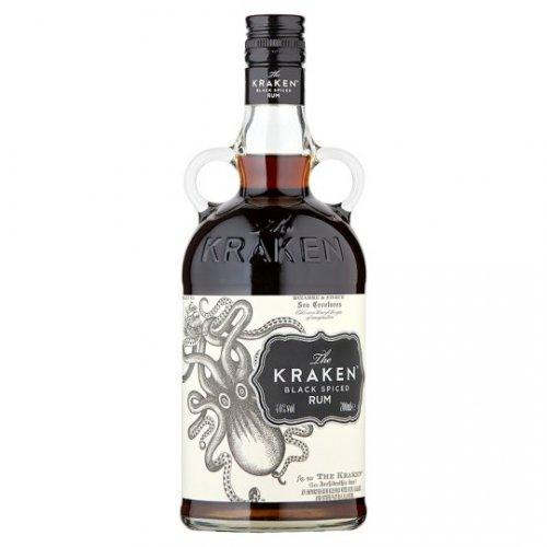 Kraken Black Spiced Rum 70cl £18 @ Sainsbury's
