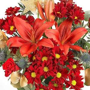 Serenta Flowers Christmas Flowers £19.99, free delivery, plus 20% off, plus 10% off code