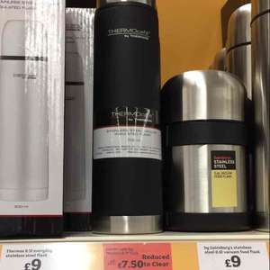 thermo flask £7.50 Sainsburys instore