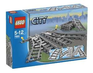 LEGO City - Switch Tracks [7895] £9.89 (Prime) / £13.88 (non Prime) at Amazon