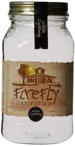 Firefly White Lightning Moonshine 50.35% Vol at Amazon for £19.99 (Prime or add 1p add-on item)