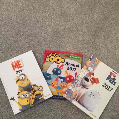 Kids 2017 Annuals... Just £1 each @ Poundland!