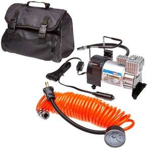 Streetwize Kruga Air Compressor with Orange Lead/Gauge £12.23 @ Eurocarparts + Free delivery