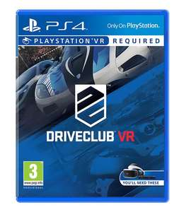 Driveclub VR PS4 £9.50 @ Tesco