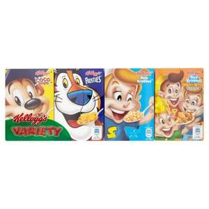 Kelloggs Variety 8 pack Was £2.07 Now  £1 @ Morrisons Online and In store.