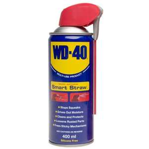 WD40 Smart Straw 400ml - £2.71 with code - Euro car parts.