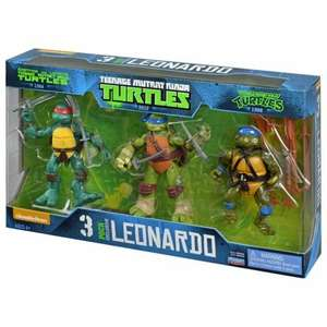 TMNT Leonardo evolution 3 pack action figures only £6.60 @ Tesco