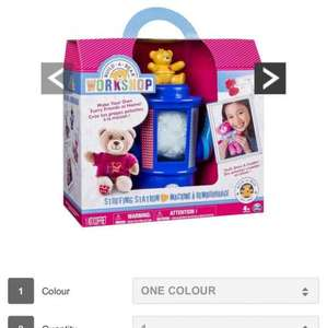 Build A Bear Stuffing station in stock £29.99 at VERY go go go - Free c&c