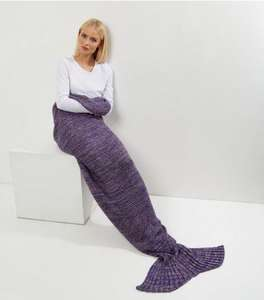Mermaid Tail Blanket - half price £9.99 - £14.99 @ New Look (£3.99 collect+ / del)